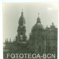 Fotografía antigua: FOTO ORIGINAL SANTIAGO DE COMPOSTELA CATEDRAL GALICIA AÑO 1962 - 10X7 CM. Lote 86722108