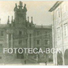 Fotografía antigua: FOTO ORIGINAL SEMINARIO MAYOR SANTIAGO DE COMPOSTELA GALICIA AÑO 1962 - 10X7 CM. Lote 86722764