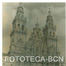 Fotografía antigua: FOTO ORIGINAL SANTIAGO DE COMPOSTELA CATEDRAL GALICIA AÑO 1962 - 10X7 CM. Lote 86723156