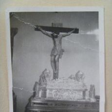 Fotografía antigua: SEMANA SANTA DE SEVILLA (?) : PASO DE CRISTO CRUCIFICADO. Lote 86993148