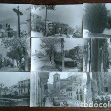 Fotografía antigua: JODAR LOTE DE 10 FOTOGRAFIAS ANTIGUAS ORIGINALES DE LOS AÑOS 50 - 60 JAEN. Lote 87089752