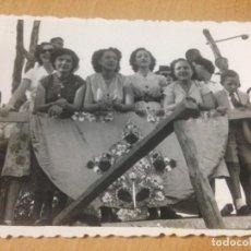 Fotografía antigua: ANTIGUA FOTOGRAFIA FIESTAS DE AYORA VALENCIA. Lote 87297060