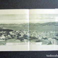 Fotografía antigua: ANTIGUA FOTOGRAFÍA PANORÁMICA DE VIGO, PONTEVEDRA. MÁS DE UN METRO DE LARGO. FOTO TOMAS.. Lote 87501644
