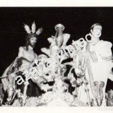 Fotografía antigua: SEMANA SANTA SEVILLA, 1972, PASO MISTERIO HERMANDAD DE SAN BENITO, 76X110MM. Lote 87866072