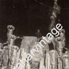 Fotografía antigua: SEMANA SANTA SEVILLA, 1969, LA SOLEDAD DE SAN LORENZO, 76X110MM. Lote 88281236