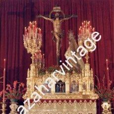 Fotografía antigua: SEMANA SANTA SEVILLA, ANTIGUA FOTOGRAFIA PASO CRISTO DE LAS MISERICORDIAS,SANTA CRUZ. 128X178MM. Lote 89160540