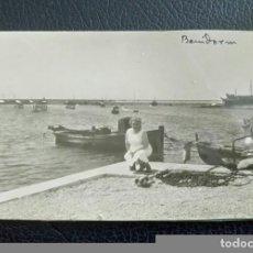 Fotografía antigua: ANTIGUA FOTOGRAFÍA. BENIDORM. ALICANTE. COSTA BLANCA. FOTO AÑOS 50 / 60. . Lote 89333224