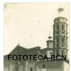 Fotografía antigua: FOTO ORIGINAL ZARAGOZA IGLESIA SAN JUAN DE LOS PANETES AÑO 1962 - 10X7 CM. Lote 89361140