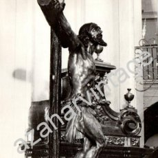 Fotografía antigua: SEMANA SANTA SEVILLA, ANTIGUA FOTOGRAFIA CRISTO DE LAS MISERICORDIAS, SANTA CRUZ,128X178MM. Lote 89688844