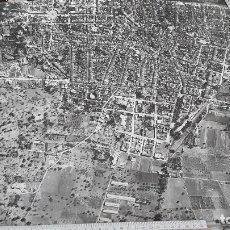 Fotografía antigua: FELANITX (MALLORCA). GRAN FOTO AÉREA (60 X 50 CM). HACIA 1970.. Lote 89699348