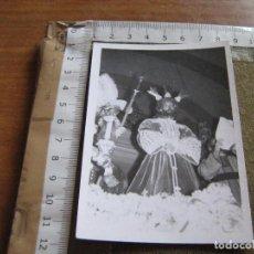 Fotografía antigua: FOTOGRAFIA DE SEMANA SANTA SEVILLA - PASO CRISTO DE LA SENTENCIA - HDAD MACARENA. Lote 89854072