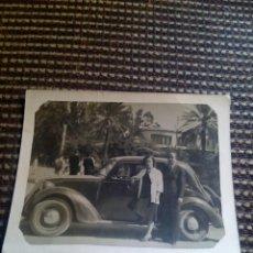 Fotografía antigua: FOTO ANTIGUA COCHE 6,9CM X 8,8CM. Lote 90177608