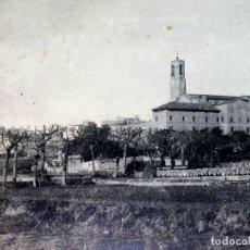 Fotografía antigua: SANTUARIO EN CATALUNYA. FOTOGRAFIA. ESPAÑA. CIRCA 1930. Lote 91824470
