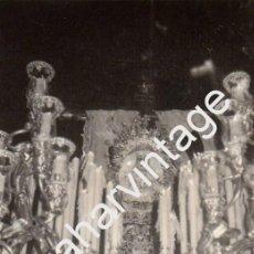 Fotografía antigua: SEMANA SANTA SEVILLA, 1969, LA SOLEDAD DE SAN LORENZO, 75X110MM. Lote 92011010