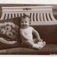 Fotografía antigua: FOTOGRAFÍA ANTIGUA DE NIÑO. MATEO HERMANOS MURCIA. AÑO 1924. Lote 92261880