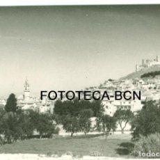 Fotografía antigua: FOTO ORIGINAL BIAR CASTILLO ALICANTE AÑOS 60 - 10,5X7,5 CM. Lote 92356515