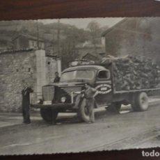 Fotografía antigua: FOTOGRAFÍA 1949. EXTRACTOS CURTIENTES DEL NORTE DE ESPAÑA, SA. GRADO. GIJÓN. Lote 92456260