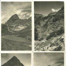 Photographie ancienne: C1.- XALET DE LA RENCLUSA-PADERNA-PORT DE BENASQUE-EL SALVAGUARDA-FOTOGRAFIAS AGOSTO 1951. Lote 92916230