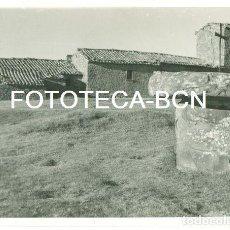 Fotografía antigua: FOTO ORIGINAL SANT CUGAT GAVADONS IGLESIA COLLSUPINA MOIANES AÑO 1957 - 10X7 CM. Lote 93561260