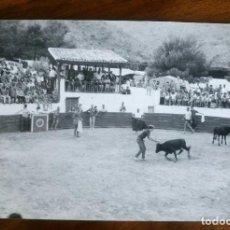 Fotografía antigua: PLAZA TOROS DE CULLERA.VALENCIA.CAMPING SANTA MARTA.FOTOGRAFO FINEZAS.ANTIGUA FOTOGRAFÍA.FOTO.1963. Lote 93582300
