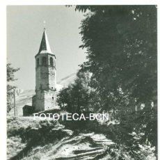Fotografía antigua: FOTO ORIGINAL BAJERQUE IGLESIA VALL D ' ARAN LLEIDA LERIDA AÑOS 60 - 10X7 CM. Lote 93756785