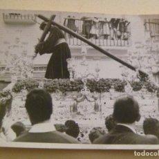 Fotografía antigua: SEMANA SANTA DE SEVILLA : FOTO DE PASO DE CRISTO DE LOS GITANOS. Lote 93842220