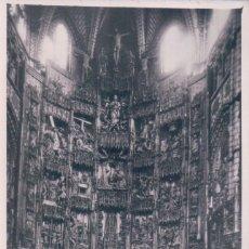Fotografía antigua: FOTO DEL ALTAR MAYOR CATEDRAL DE TOLEDO -. FOTO RODRIGUEZ - 14 CM * 9 CM. Lote 93916360