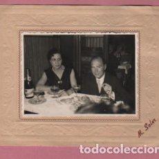 Fotografía antigua: FOTOGRAFIA DEL FOTOGRAFO DE BARCELONA M. SOLER - SANS 109 . Lote 93982785