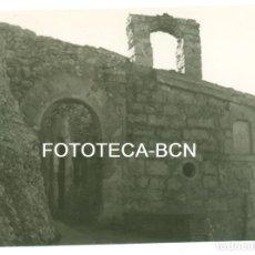 Fotografía antigua: FOTO ORIGINAL CAPELLA SANT SALVADOR DE LES ESPASES ESPARRAGUERA AÑOS 60 - 10,5X7,5 CM. Lote 94559483