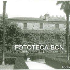 Fotografía antigua: FOTO ORIGINAL VIGO PARQUE DE CASTRELOS MUSEO AÑOS 60 - 10,5X7,5 CM. Lote 94564059