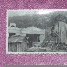 Fotografía antigua: FOTOGRAFÍA ANTIGUA ORIGINAL, CASTILLETE MINA ASTURIAS EXCELENTE ESTADO. Lote 94735807