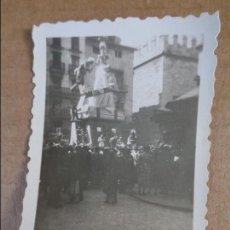 Fotografía antigua: ANTIGUA FOTO DE FALLA PLAZA DOCTOR COLLADO VALENCIA AÑO 1952 FOTOGRAFIA FALLAS. Lote 95030615