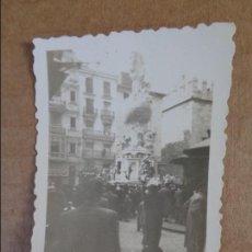 Fotografía antigua: ANTIGUA FOTO DE FALLA PLAZA DOCTOR COLLADO VALENCIA AÑO 1951 FOTOGRAFIA FALLAS. Lote 95030755
