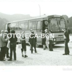 Fotografía antigua: FOTO ORIGINAL AUTOCAR ENASA PEGASO COMAPAÑIA JULIA - 11,5X8 CM . Lote 95336399
