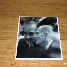 Fotografía antigua: FOTO JACQUES CHIRAC.15 X 13 CM.. Lote 95502303
