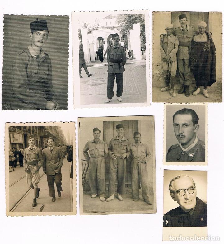 Fotografía antigua: BAB TAZZA MARRUECOS MILITARES ESPAÑOLES - LOTE DE FOTOS ANTIGUAS - Foto 3 - 95563131