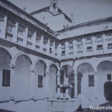 Fotografía antigua: HOSPITAL REAL SANTIAGO DE COMPOSTELA 1938.11.5X17.5 GALAICO FOTOGRABADO. Lote 95665451