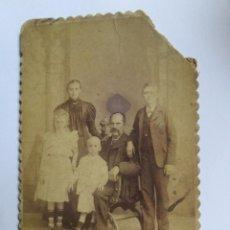Fotografía antigua: FOTO FAMILIAR. PHOTO DE FAMILLE. FAMILY PICTURE. CIRCA 1910. Lote 95716007