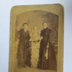Fotografía antigua: FOTO FAMILIAR. PHOTO DE FAMILLE. FAMILY PICTURE. CIRCA 1910. Lote 95716051