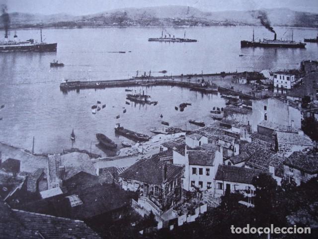 VIGO BOUZAS AÑO 1938 .11.5X17.5.GALAICO FOTOGRABADO (Fotografía Antigua - Fotomecánica)