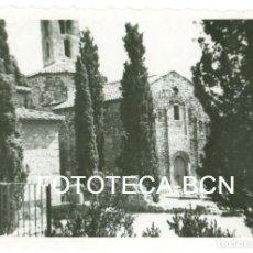 Fotografía antigua: FOTO ORIGINAL IGLESIA DE SANT PERE TERRASSA AÑO 1950 - 8,5X5,5 CM. Lote 96382295