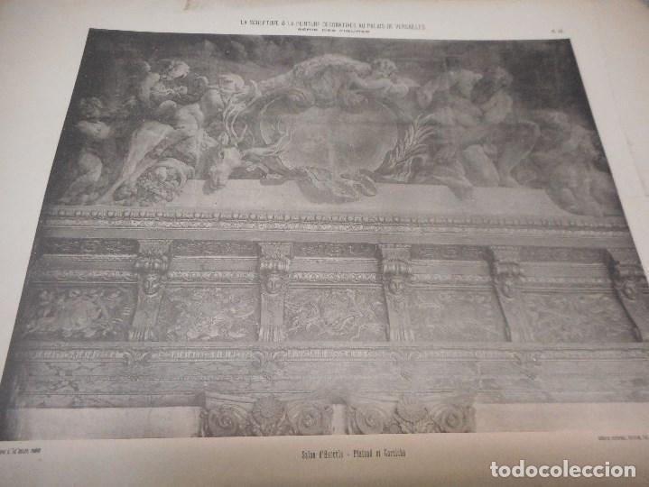 Fotografía antigua: gran coleccion de 60 heliotypie palais versalles de gran medida - Foto 2 - 96458911