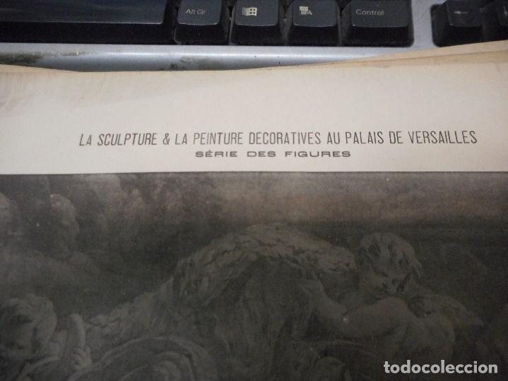 Fotografía antigua: gran coleccion de 60 heliotypie palais versalles de gran medida - Foto 3 - 96458911