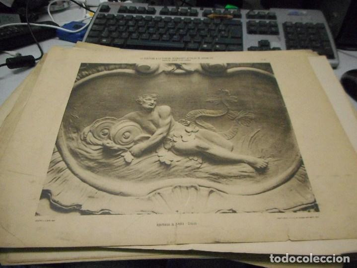 Fotografía antigua: gran coleccion de 60 heliotypie palais versalles de gran medida - Foto 7 - 96458911