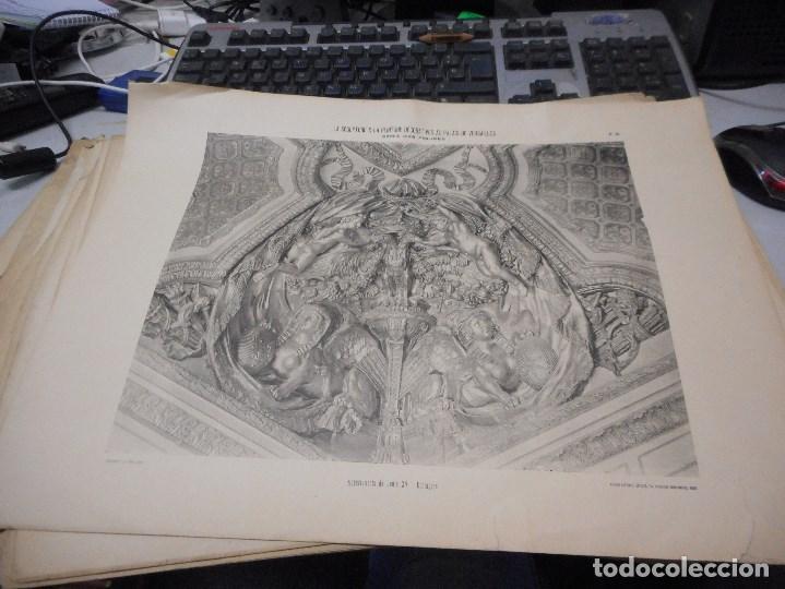 Fotografía antigua: gran coleccion de 60 heliotypie palais versalles de gran medida - Foto 8 - 96458911