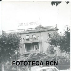 Fotografía antigua: FOTO ORIGINAL LOGROÑO GRAN HOTEL AÑOS 60 - 10,5X7,5 CM. Lote 97232851
