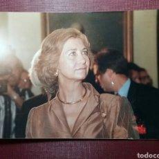 Fotografía antigua: FOTOGRAFÍA DE LA REINA SOFÍA DE ESPAÑA. . Lote 97524712