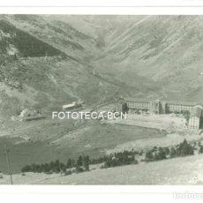 Fotografía antigua: FOTO ORIGINAL VISTA DEL SANTUARIO DE NURIA AÑOS 50 - 9,5X6,5 CM . Lote 97767231
