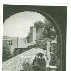 Fotografía antigua: FOTO ORIGINAL VISTA DEL PUENTE DE CAMPRODON RIPOLLES AÑO 1960 - 9,5X6,5 CM . Lote 97767611