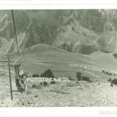 Fotografía antigua: FOTO ORIGINAL TELESILLA VALL DE NURIA AÑOS 50 - 9,5X6,5 CM . Lote 97767743